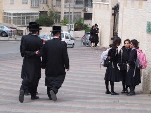 Three (of many) phases of life in a Haredi community