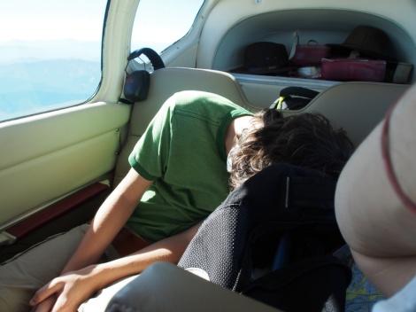 Jem naps airborne