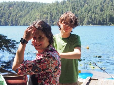At Horseshoe Lake on Blakely