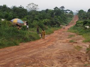 Ziah Zwedru highway