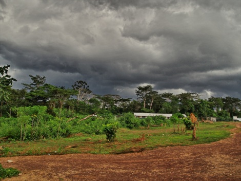 storm brewing over Ziah