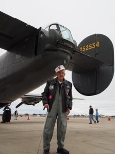 CMSGT Lee Chalifour - B-24 tailgunner