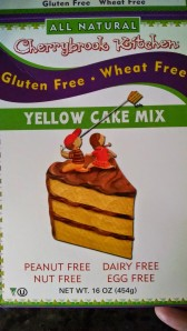 the cake mix is a lie