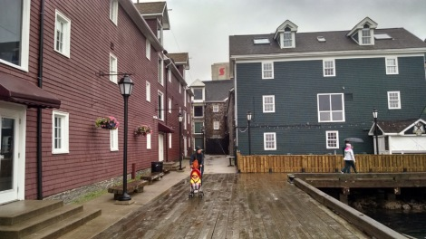 """Privateer's Wharf, Halifax - of """"Barrett's"""" and """"Bluenose"""" fame"""